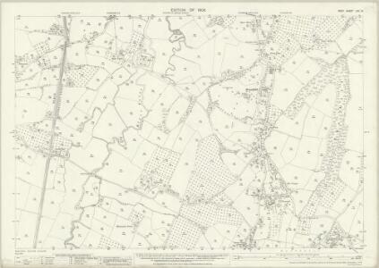 Kent LXII.13 (includes: Goudhurst; Horsmonden) - 25 Inch Map