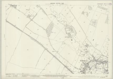 Cambridgeshire LV.14 (includes: Hildersham; Linton) - 25 Inch Map