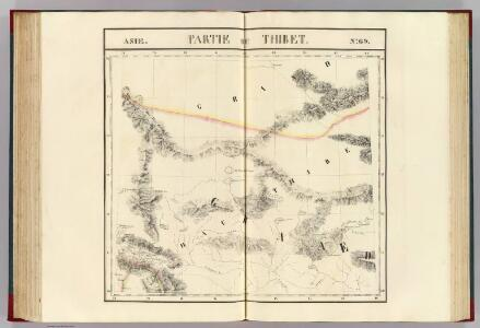 Partie du Thibet. Asie 69.