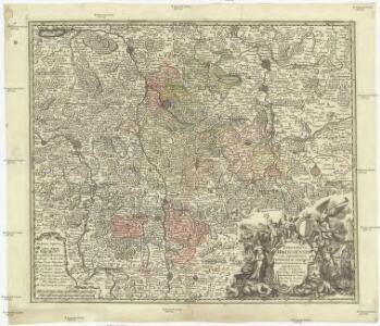 Episcopatus Hildesiensis cum adjacentibus provinciis ac statibus mappa geographica repraesentatus