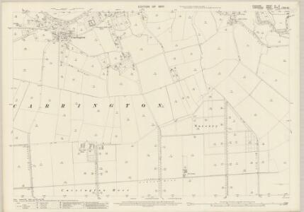 Cheshire IX.9 (includes: Carrington; Urmston) - 25 Inch Map