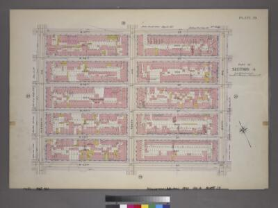 Plate 29, Part of Section 4: [Bounded by W. 47th Street, Ninth Avenue, W. 42nd Street and Eleventh Avenue.]