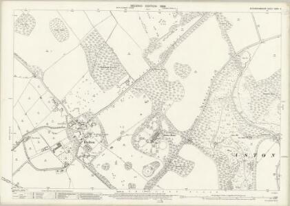 Buckinghamshire XXXIV.6 (includes: Aston Clinton; Halton) - 25 Inch Map