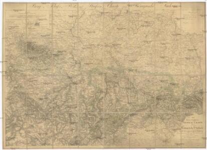 Oro- Hydro-Graphische General Charte vom Königreiche Sachsen und den angrenzenden Ländern