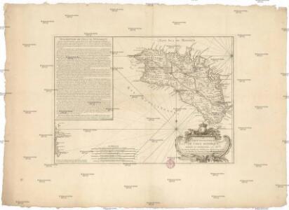 Carte topographique de l'isle Minorque