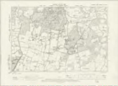 Sussex XXV.SE - OS Six-Inch Map