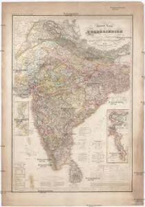 General Karte von VORDERINDIEN