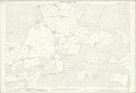 Sussex XLIV.4 (includes: Beckley) - 25 Inch Map