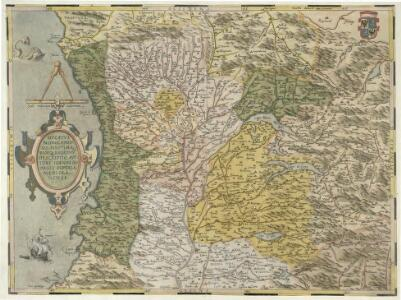 Dvcatvs Mediolanensis, Finitimarvmq; Regionvm descriptio