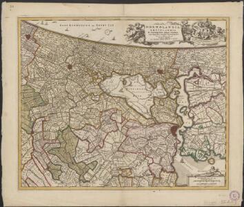 Rhenolandia, Amstelandia et circumjacentia aliquot territoria, cum aggeribus omnibus terminisque suis