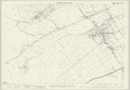 Somerset LXXXIV.8 (includes: Henstridge; Stalbridge) - 25 Inch Map