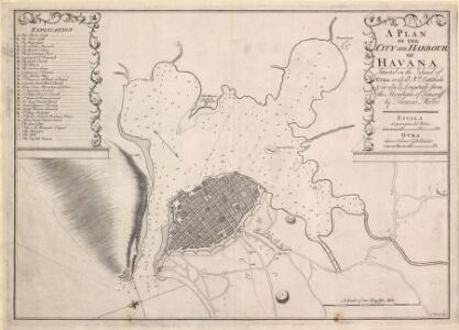 A Plan of the City and Harbour of Havana