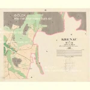 Krenau - c3622-1-009 - Kaiserpflichtexemplar der Landkarten des stabilen Katasters