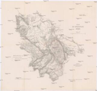 Plan des Gefechtsfeldes von Bihač