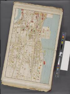 Westchester, Double Page Plate No. 7 [Map bounded by Wells Ave., Hudson River, Hudson Terrace] / prepared under the direction of Joseph R. Bien, from general surveys and official records.