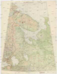 Übersichtskarte Karelien-Kola