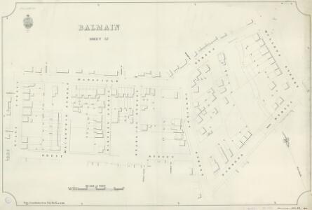 Balmain, Sheet 52, 1890