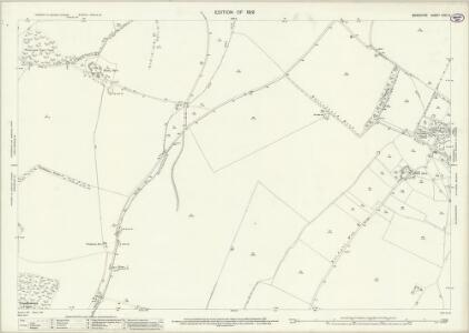 Berkshire XXVI.6 (includes: Chaddleworth; Fawley; West Shefford) - 25 Inch Map