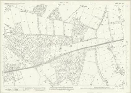 Surrey XXIV.7 (includes: East Clandon; Ripley; West Horsley) - 25 Inch Map