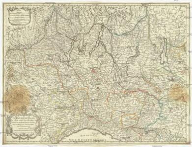 Le duché de Milan dans toute son estendue divisé en ses principales parties