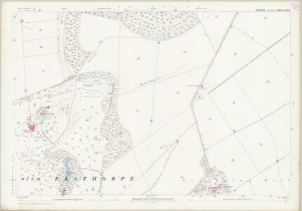 Yorkshire CXCIV.6 (includes: Londesborough; Middleton) - 25 Inch Map
