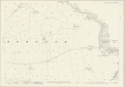Yorkshire CXXIX.9 (includes: Flamborough) - 25 Inch Map