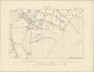 Suffolk XII.NE - OS Six-Inch Map