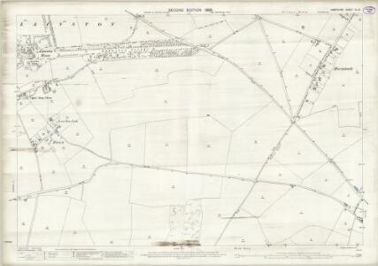 Hampshire and Isle of Wight XL.12 (includes: Crawley; Littleton; Sparsholt; Winchester) - 25 Inch Map
