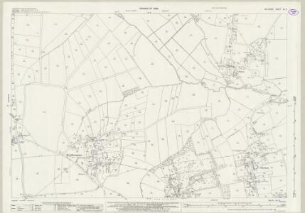 Wiltshire XL.8 (includes: Chirton; Patney; Urchfont) - 25 Inch Map