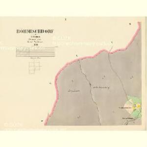 Böhmischdorf - c0963-1-002 - Kaiserpflichtexemplar der Landkarten des stabilen Katasters