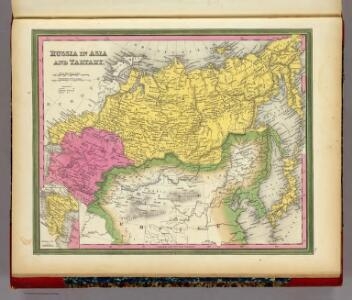 Russia In Asia And Tartary.