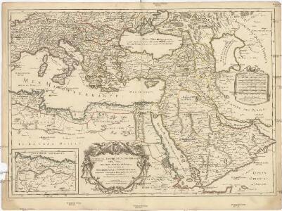 Estats de l'empire du Grand Seigneur des Turcs, en Europe, en Asie, et en Afrique