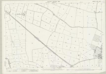 Somerset LXXXII.1 (includes: Kingsbury Episcopi; Long Load; Martock) - 25 Inch Map