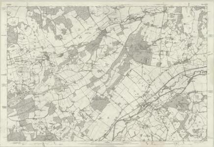 Berkshire XXXV - OS Six-Inch Map