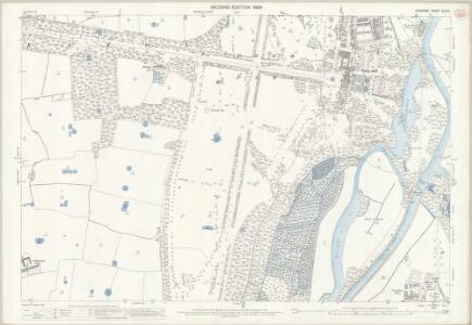 Cheshire XLVI.11 (includes: Aldford; Buerton; Eaton; Eccleston; Poulton) - 25 Inch Map