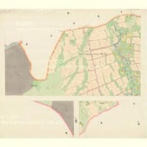 Mosty bei Jablunkau - m1892-1-002 - Kaiserpflichtexemplar der Landkarten des stabilen Katasters