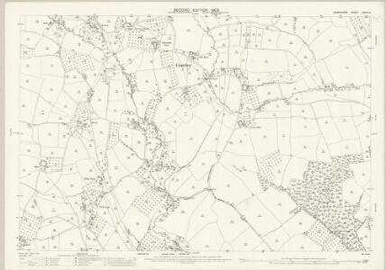 Shropshire LXXIX.12 (includes: Boraston; Coreley; Milson; Nash) - 25 Inch Map