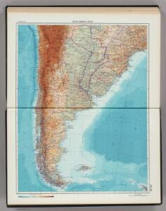 230-231.  South America, South.  The World Atlas.