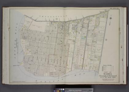Part of Ward 5. [Map bound by Amboy Road, Beach St,   Pier & Bulkhead Line]