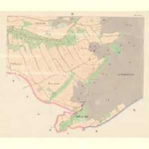 Sattel (Sedloňow) - c6810-1-008 - Kaiserpflichtexemplar der Landkarten des stabilen Katasters