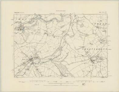 Somerset XXI.SE - OS Six-Inch Map