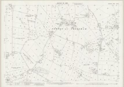 Cheshire XXXII.8 (includes: Alvanley; Frodsham; Kingsley; Manley) - 25 Inch Map