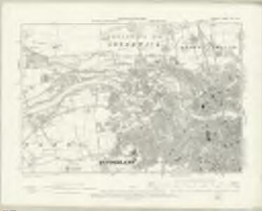 Durham VIII.SW - OS Six-Inch Map