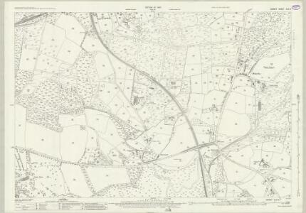Dorset XLIII.8 (includes: Corfe Mullen; Poole) - 25 Inch Map