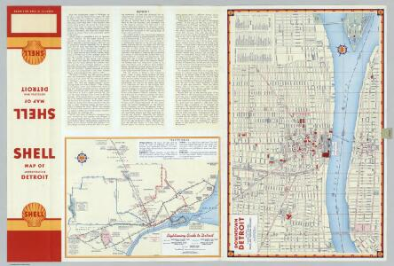 Downtown Detroit.  Sightseeing Guide to Detroit.