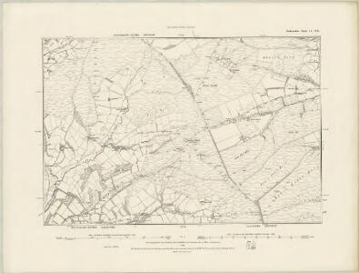 Radnorshire IV.SW - OS Six-Inch Map