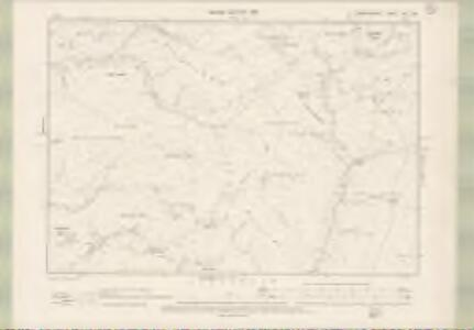Dumfriesshire Sheet XVII.SW - OS 6 Inch map