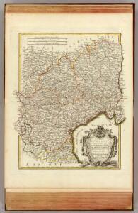 Languedoc, Foix, Roussillon, Guienne.