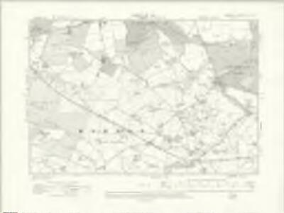 Cheshire XL.NE - OS Six-Inch Map