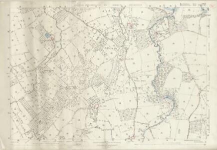 Herefordshire VIII.9 (includes: Brimfield; Little Hereford; Tenbury) - 25 Inch Map